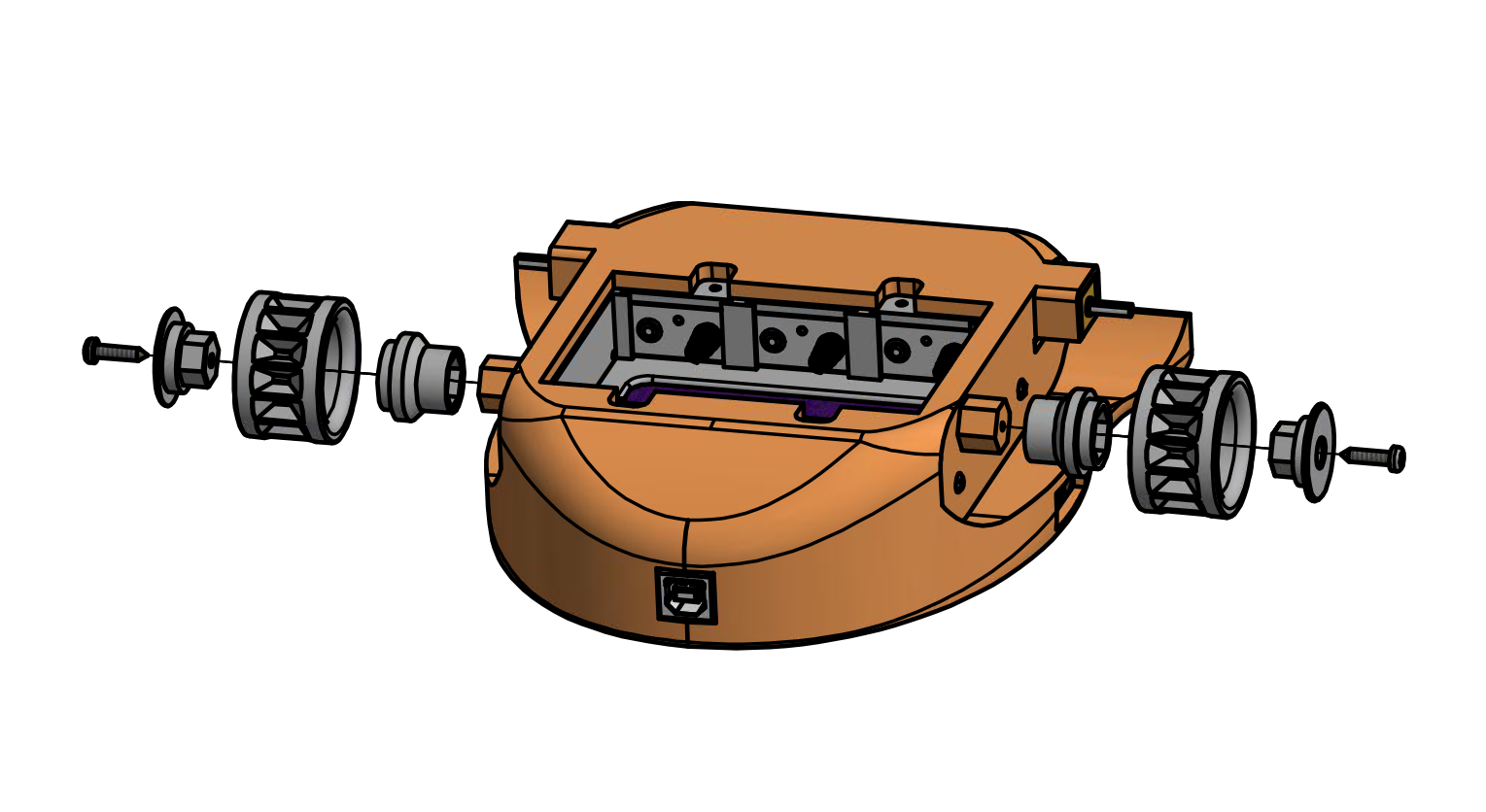 Install the idler wheels