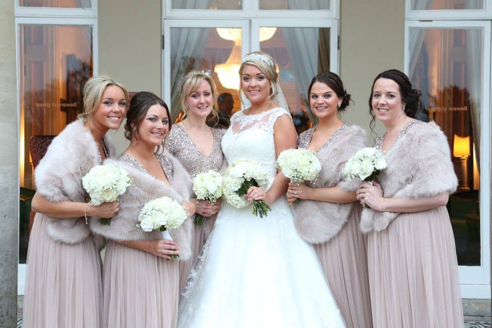 Wedding Hair and Makeup - Danielle and her team have worked on many weddings in the UK snd Abroad. To receive prices and package information please head over to our wedding page.(Please click on image for portfolio).