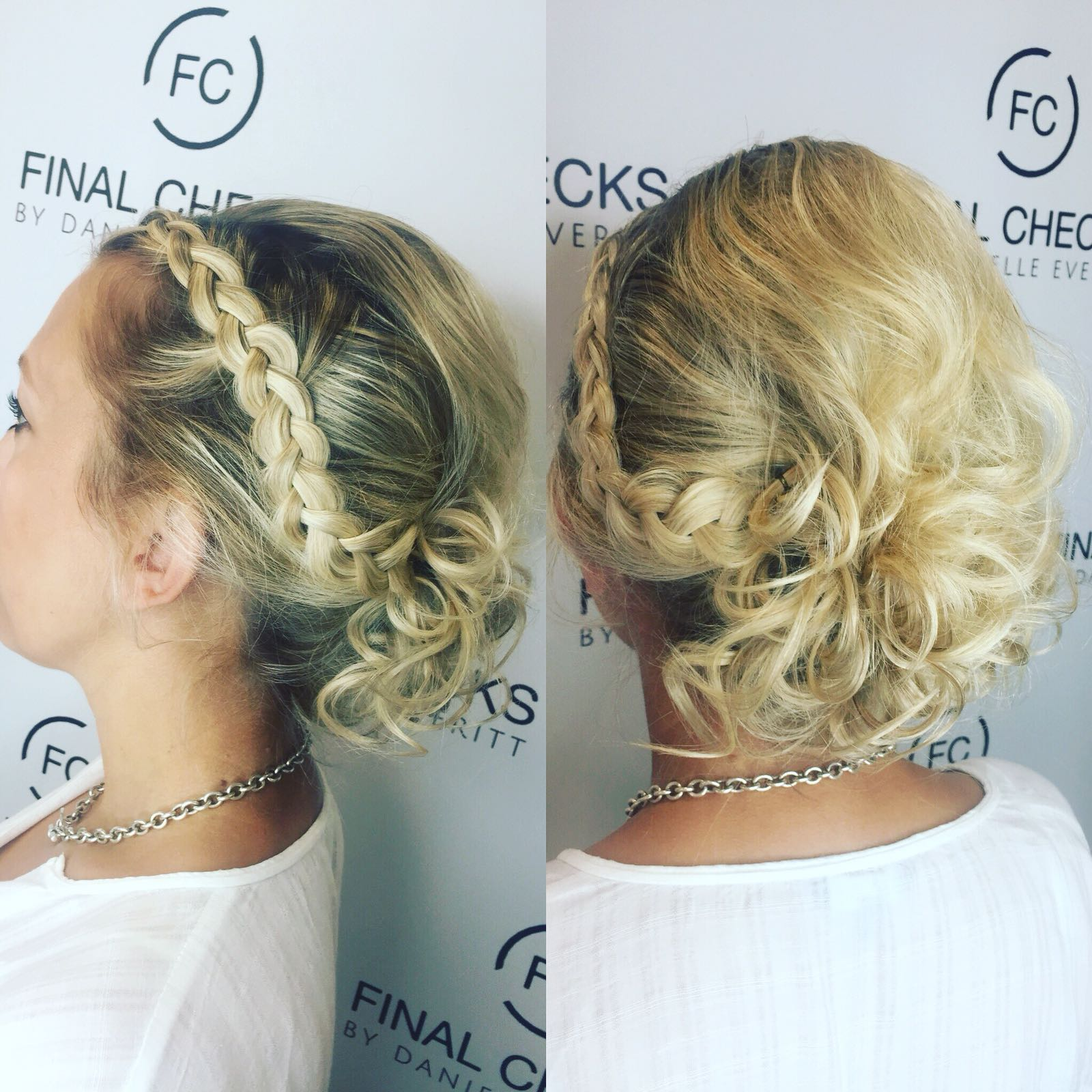 Hairstyles - Whether your need hair up to big hair to soft curls. Our team will create any hair style you desire.(Please click on image to see more images).