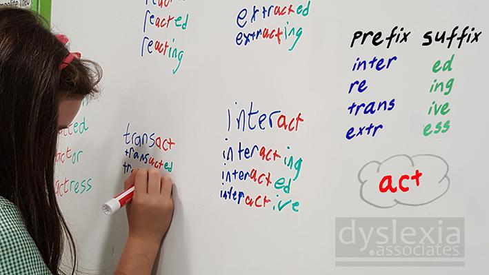 root.prefix.suffix.dyslexia.associates