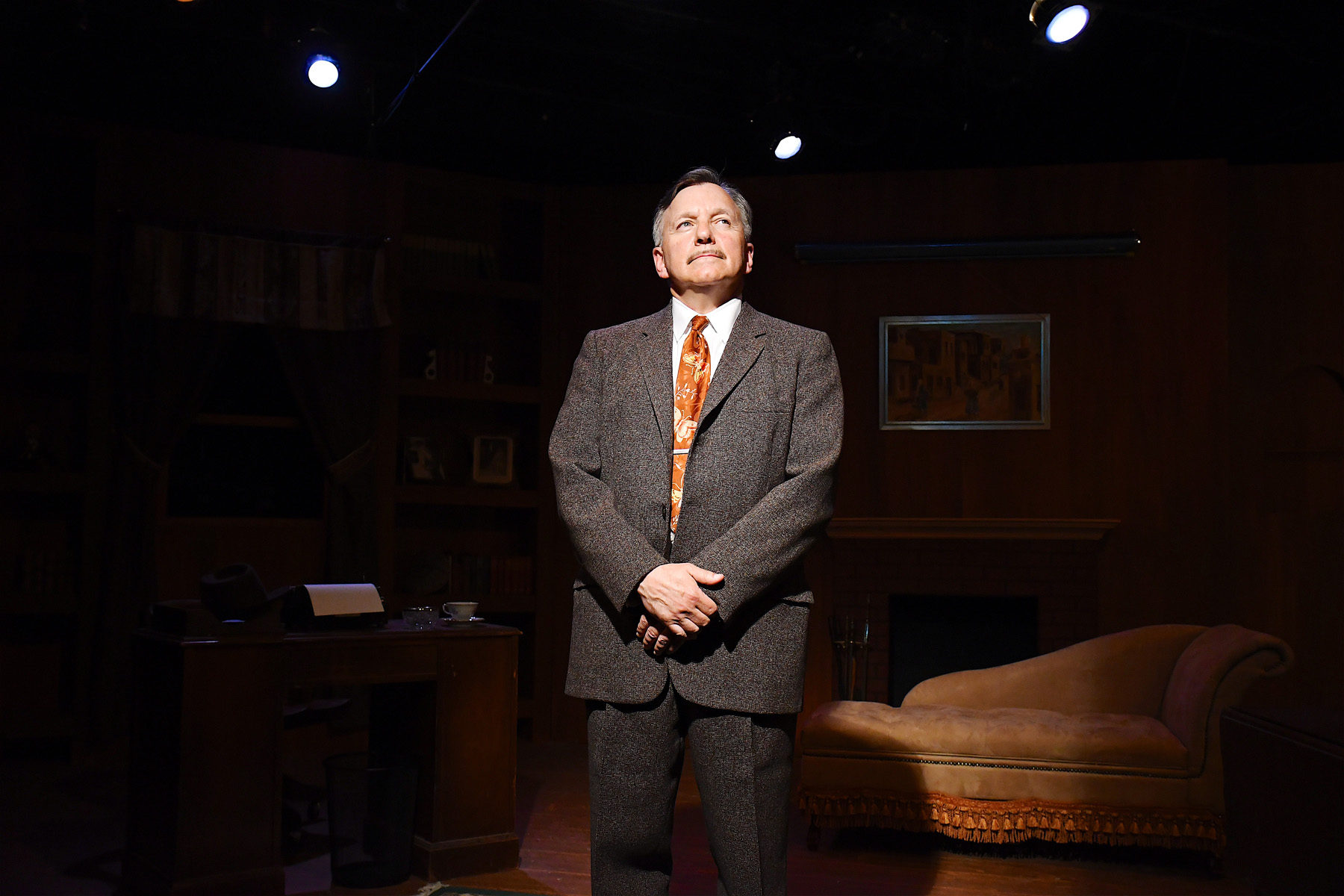 The conversation continues Sunday, July 3rd on stage with James Sherman! Join me for a talkback and Q & A session with James Sherman after the matinee performance at the Piven Theatre. Call: 800.838.3006  The Ben Hecht Show