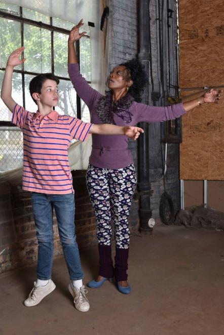 Billy Elliot the musical - Jacob Kaiser and Shanésia DavisPhoto: Michael Courier