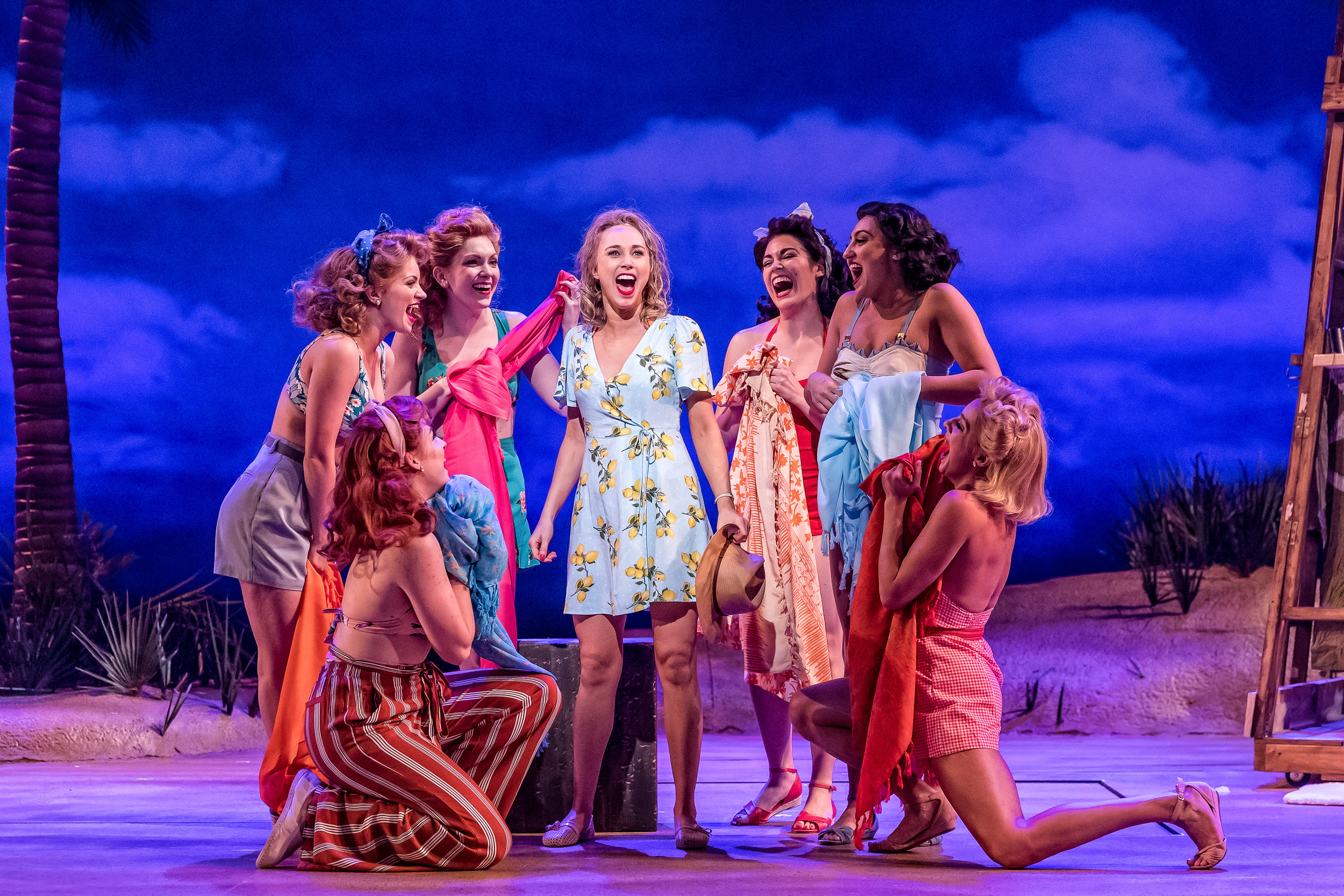 Samatha Hill (center) as Nellie in South Pacific. Photo by Brett Beiner.jpg