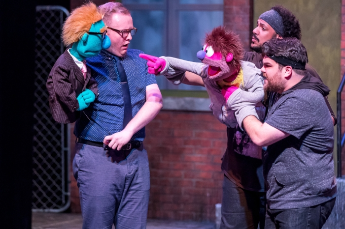 Mercury's Avenue Q '18 (Brett A. Beiner) - Christian Siebert (Rod), Jonah D. Winston and Dan Smeriglio (Nicky).jpg