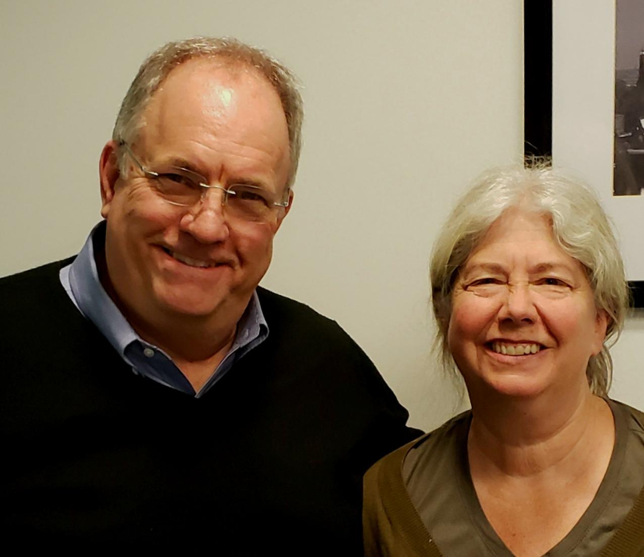 Mary Zimmerman and Ed.jpg