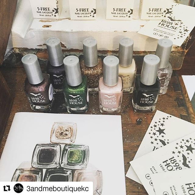 #Repost @3andmeboutiquekc (@get_repost) ・・・ Love her, love her story and love her nail lacquer. Excited to announce this week's new arrival 1898 HOUSE nail lacquer!  @1898_house  #boutiqueshopping #kcmo #w39thkc #shoptilyoudrop #3andmeboutique #3andmeboutiquekc #1898house #kansascity #igkansascity #instakc #womenswear #casualchic #doyournails #localkc #kclocal