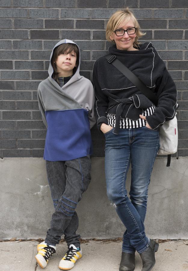 Rodolphe et moi, pour ses 11 ans.