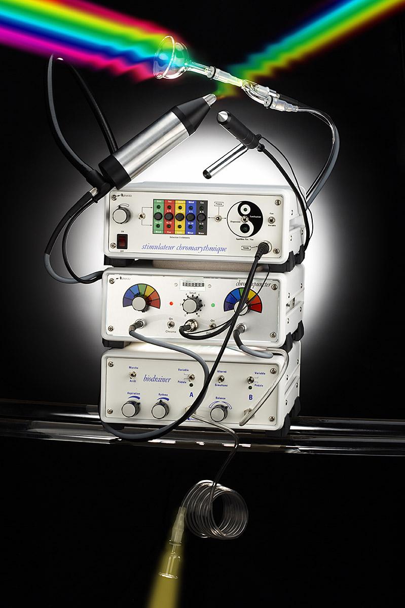 Biostimulateur, Chromapuncteur, Biodraineur
