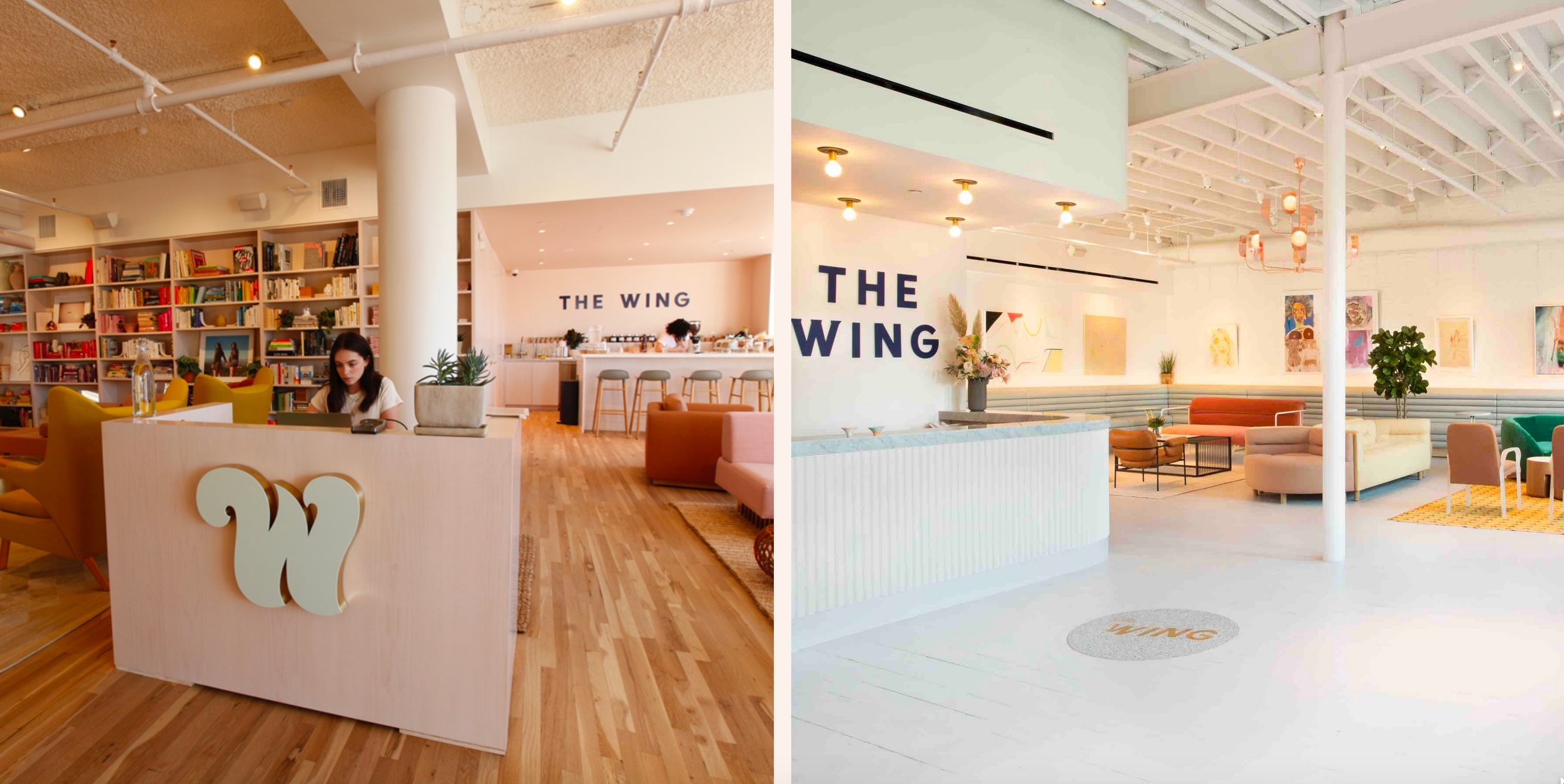 New York City's The Wing–a network of co-working and community spaces designed for women
