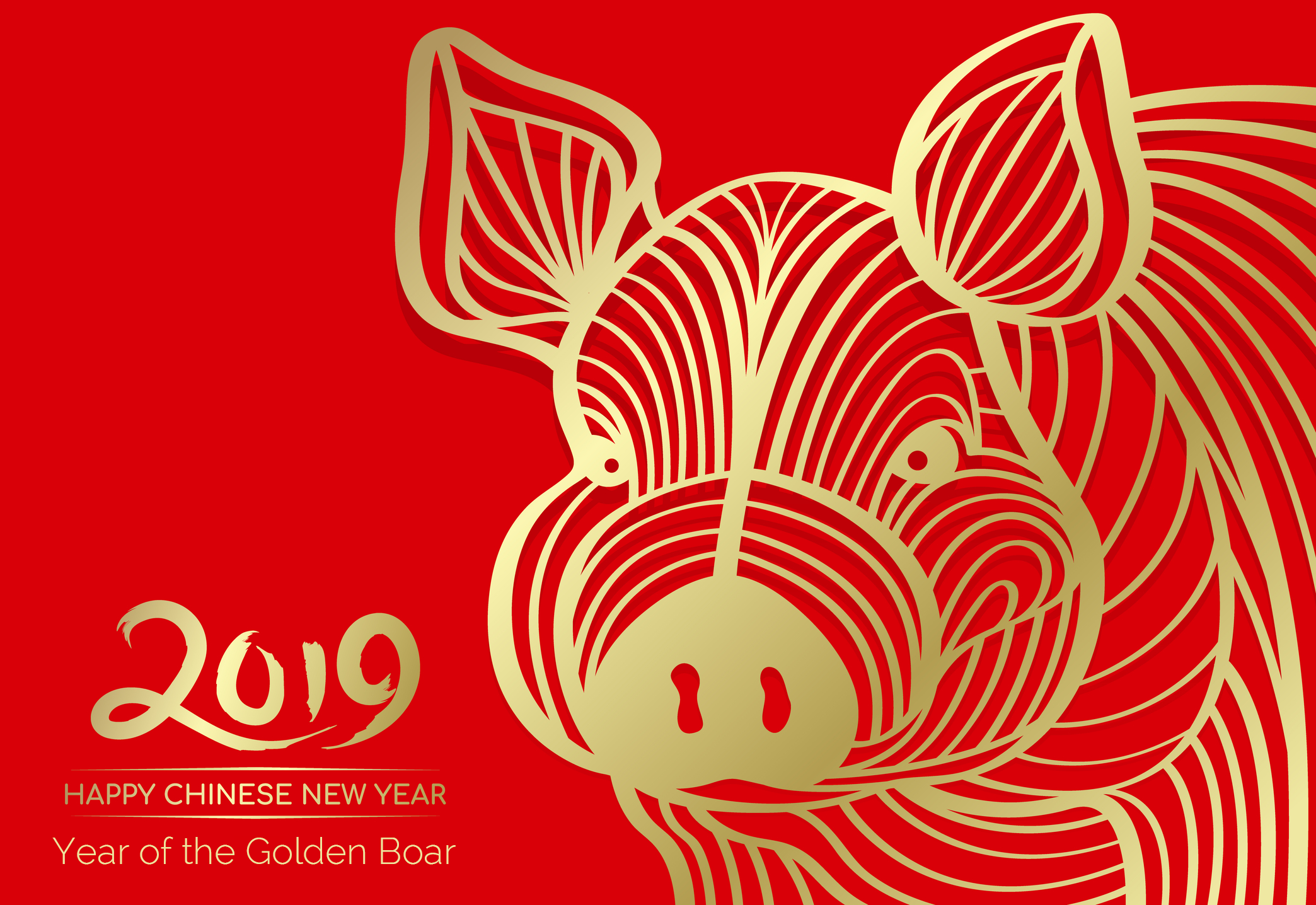 The Chinese New Year Is February 5—Year of the Golden Boar