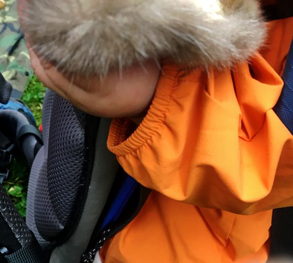 The next generation of naturalist examines a soft specimen.