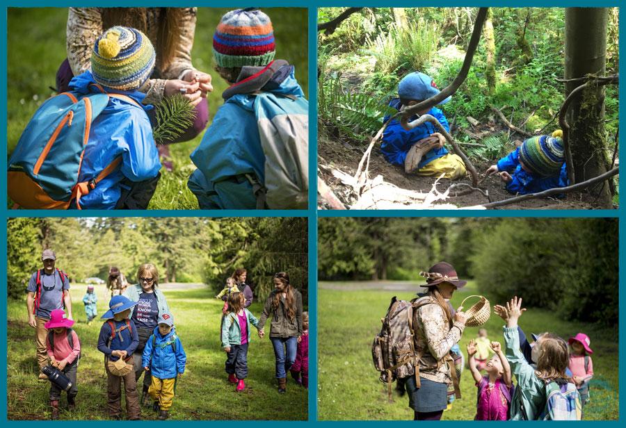 """Off we go to the woods, hand in hand through the land...""  Photo Credit: Britt Nemeth / brittnemethstudios.com"