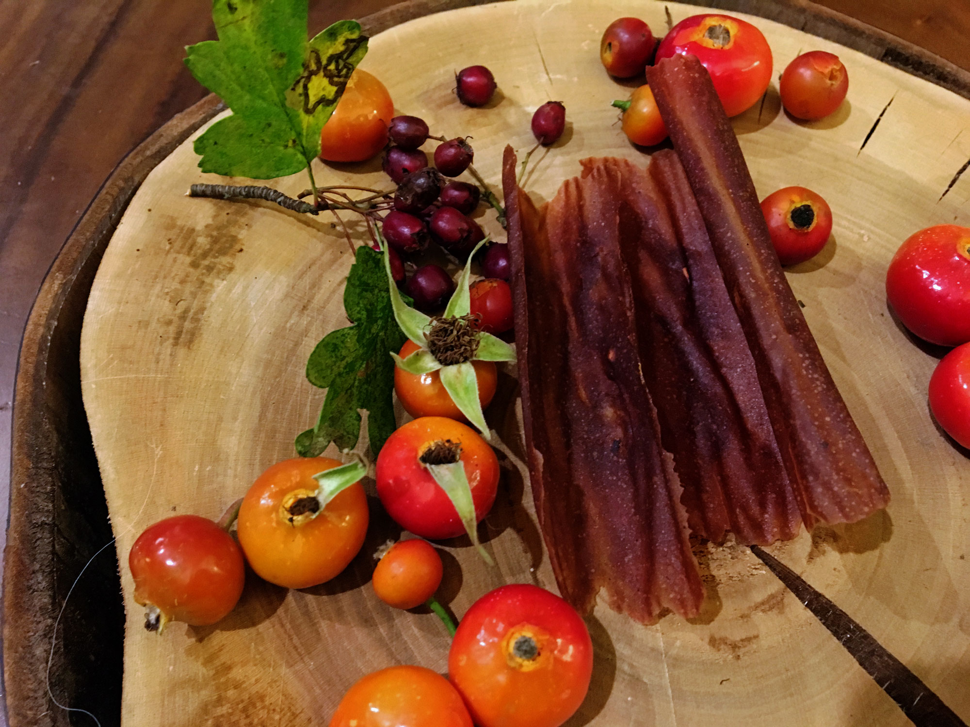 Delicious and Nutritious fruit leather