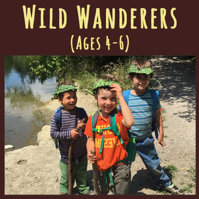 Wild Wanderers: ages 4-6