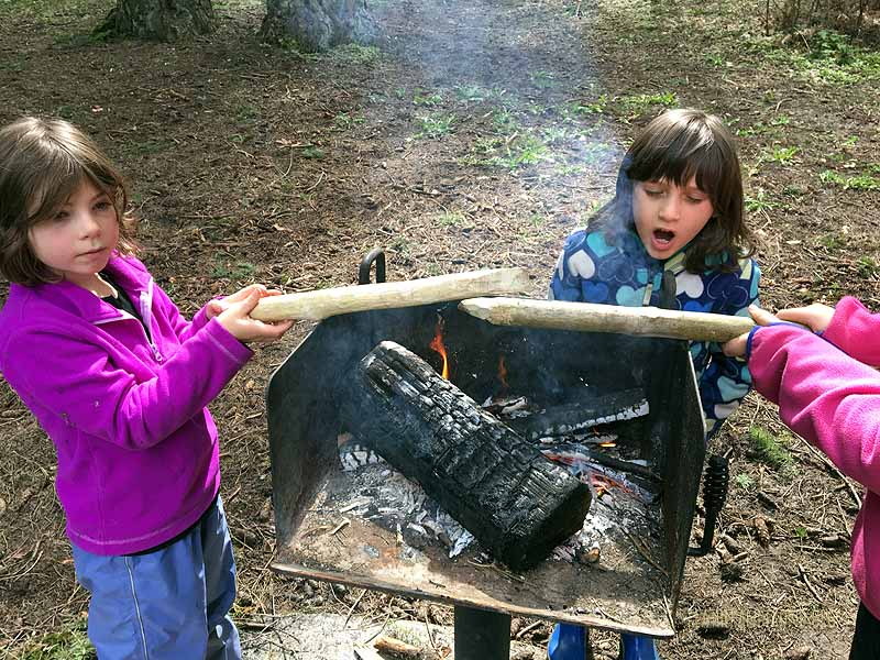 Fire-hardening our Digger-Boppers