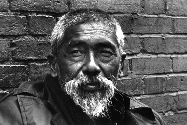 The only homeless person I met in Chinatown