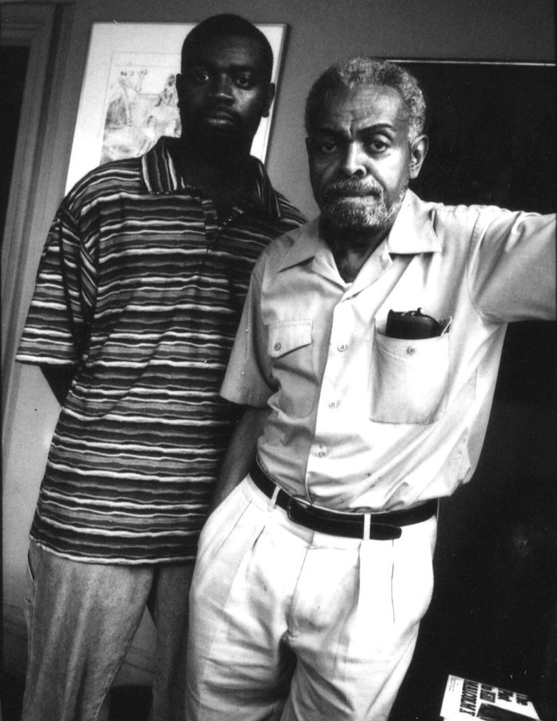 Amiri Baraka and Ras Baraka