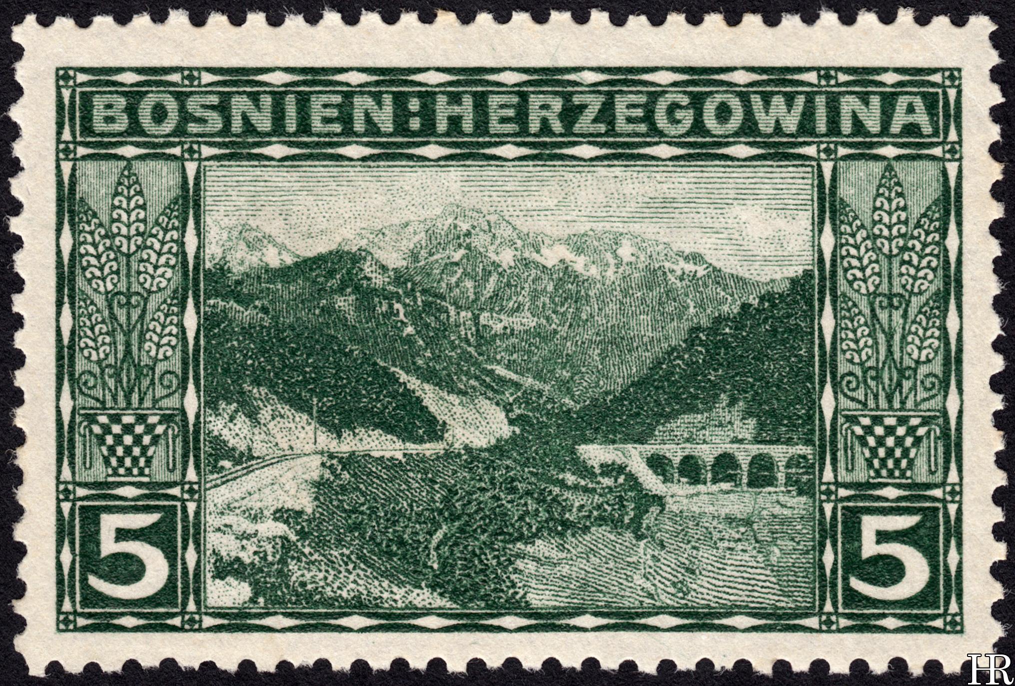 """5 heller - """"The Naretva Pass"""""""