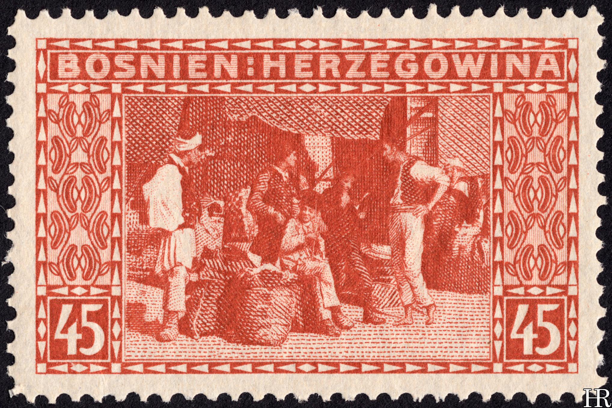 """45 heller - """"The Bazaar at Sarajevo"""""""