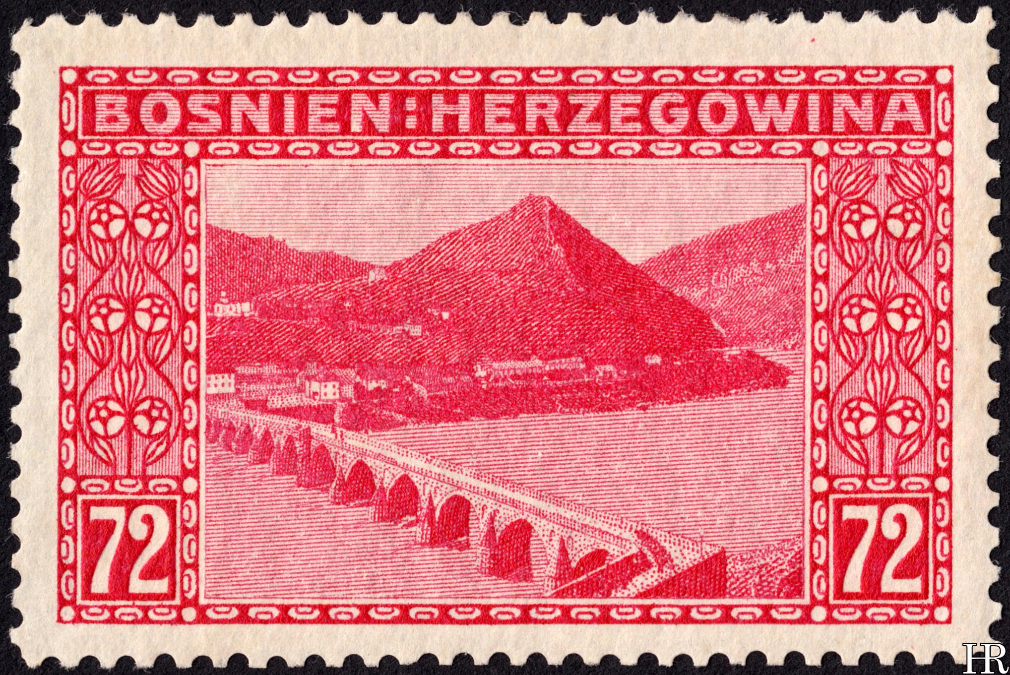 """72 heller - """"View of Vishegrad"""""""