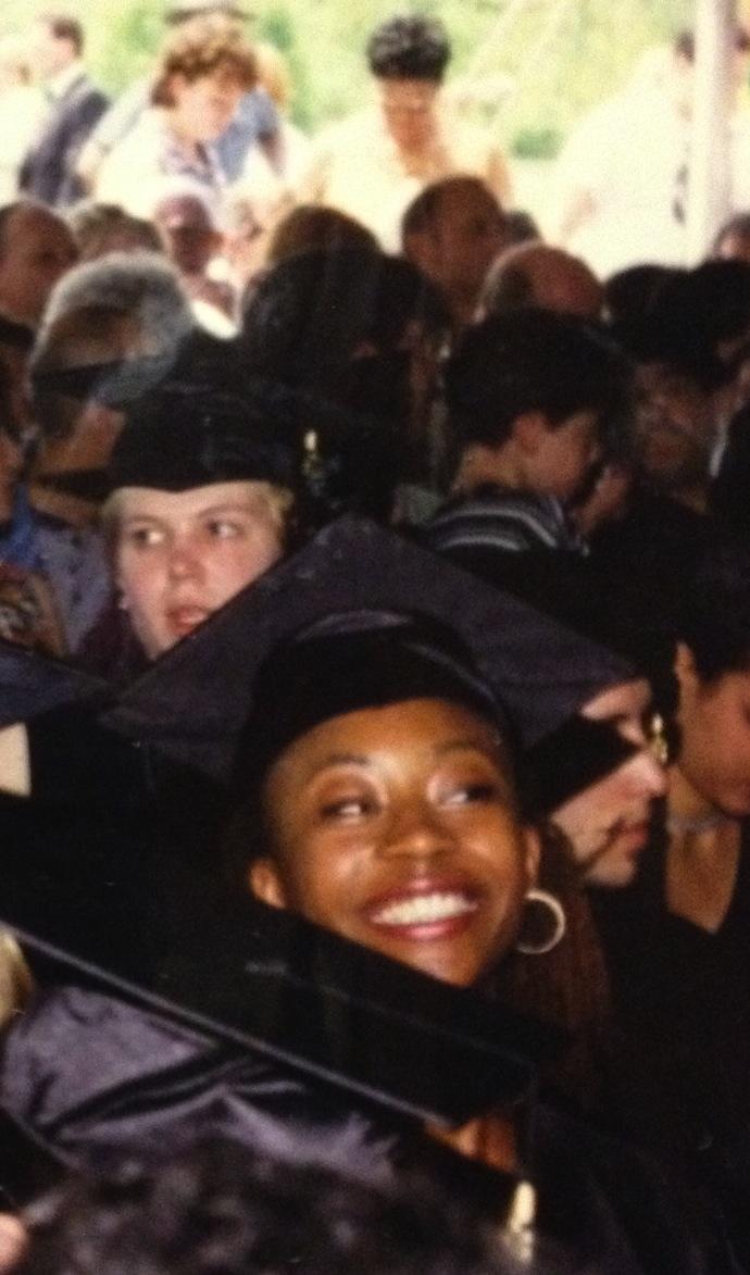 1996. Graduation Day.