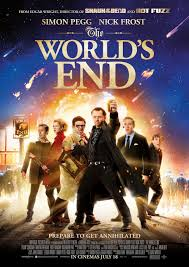movie poster world's end