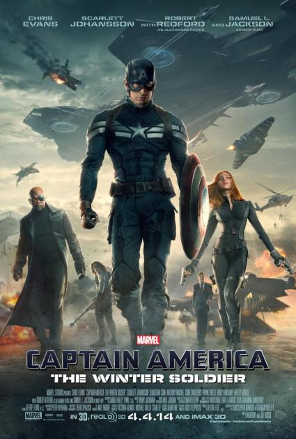 cap america movie poster