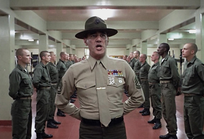 This movie hasn't been made yet, so I don't have any good / relevant pictures to use for this post. Instead, I present you with this image from 'Full Metal Jacket' because it soothes me.