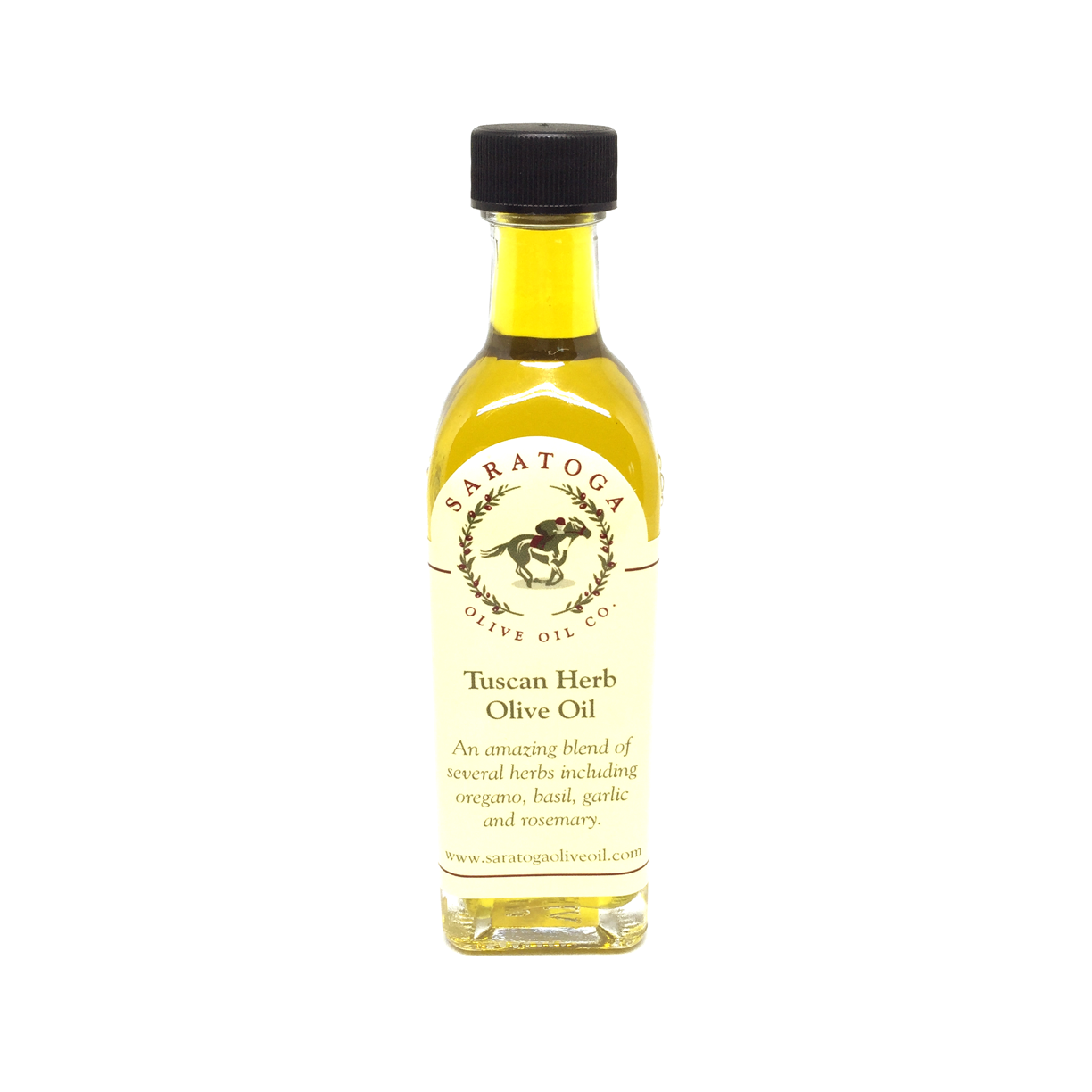 From the award winning Saratoga Olive Oil Co. comes an amazing blend of several herbs including oregano, basil, garlic, and rosemary makes this olive oil a superior bread dipping and seasoning oil. It makes an instant hit at tastings because of its superior balance of fresh herb flavors.