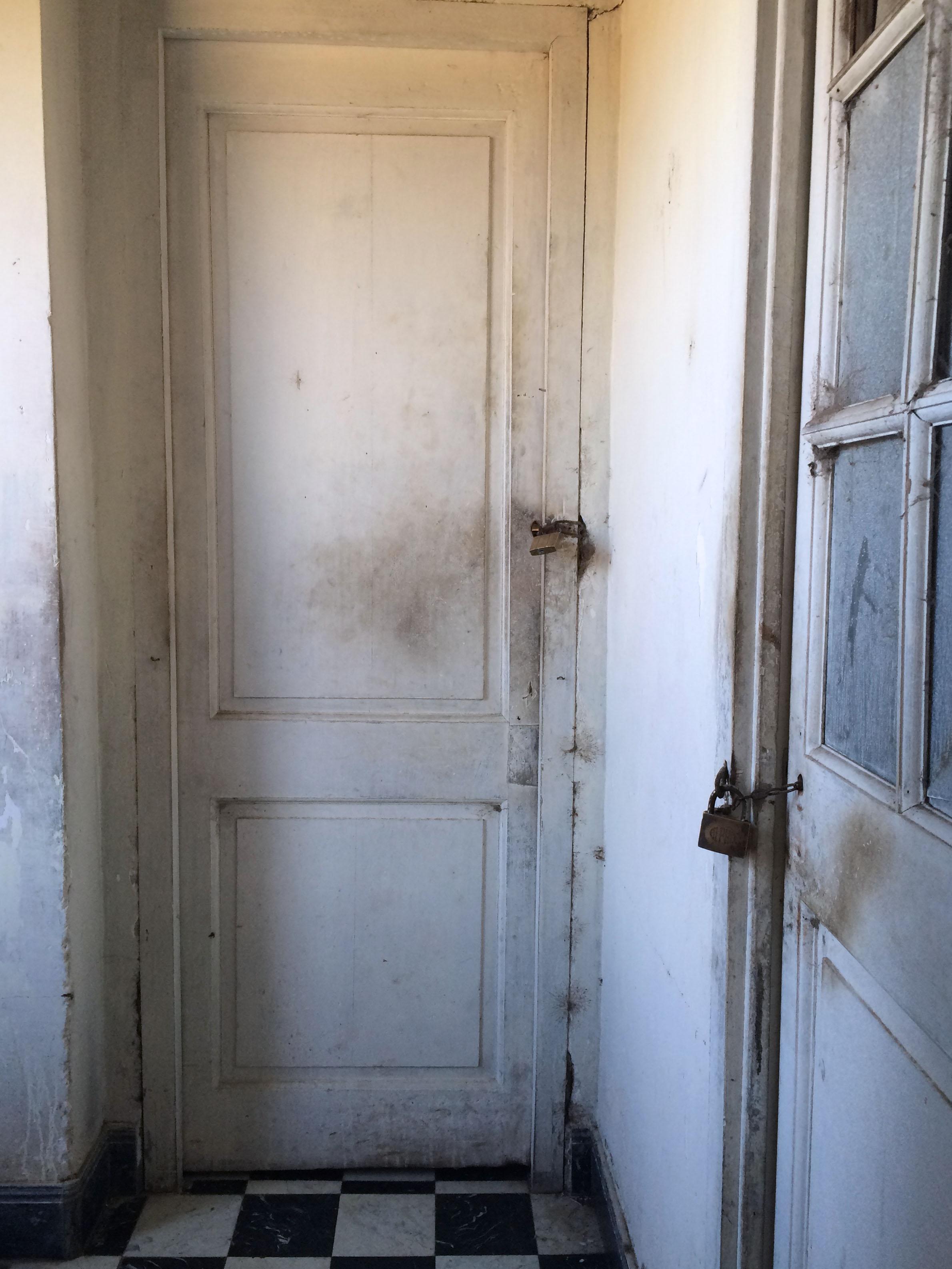 Locked upstairs doors
