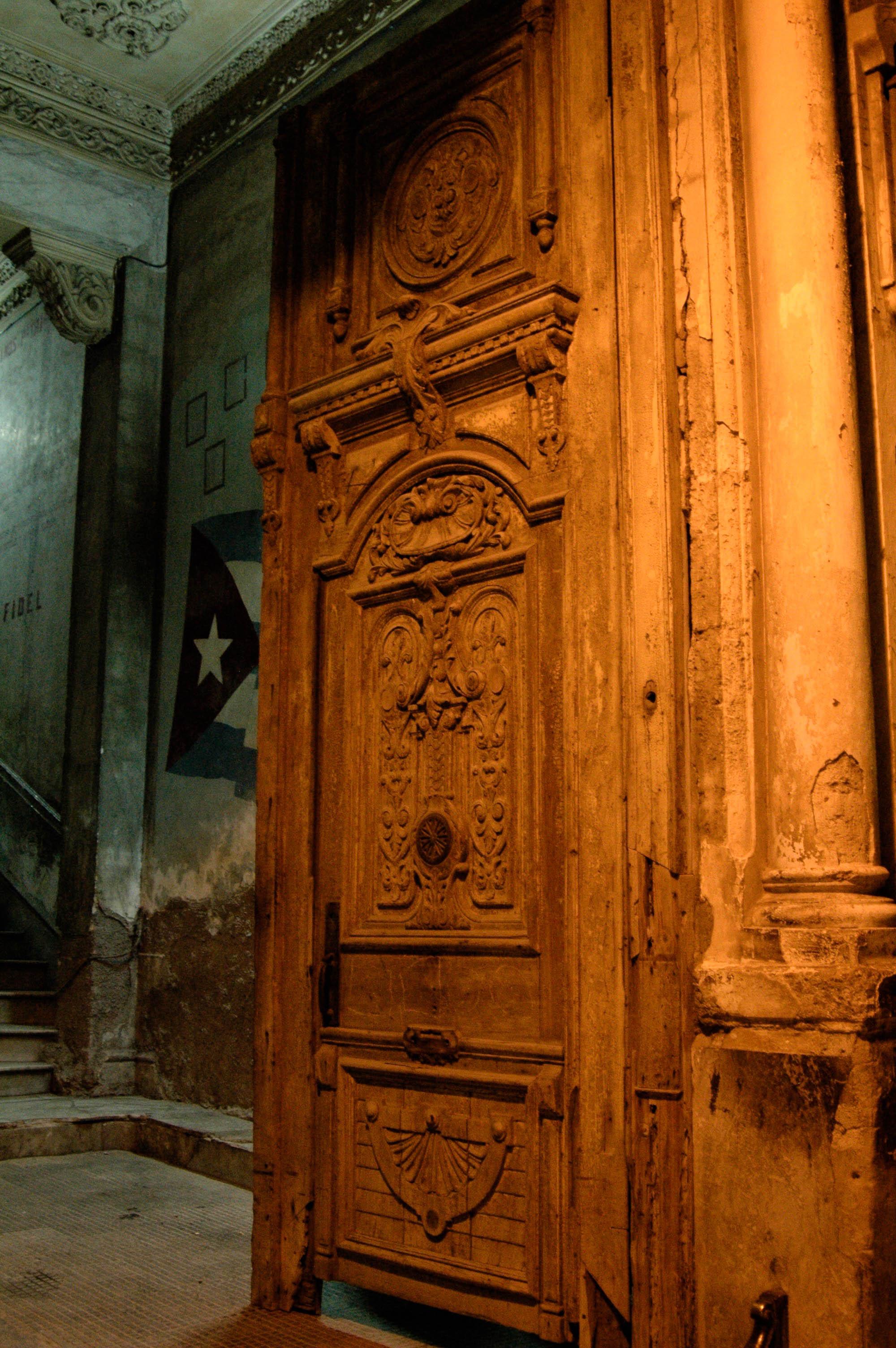 The detailed door