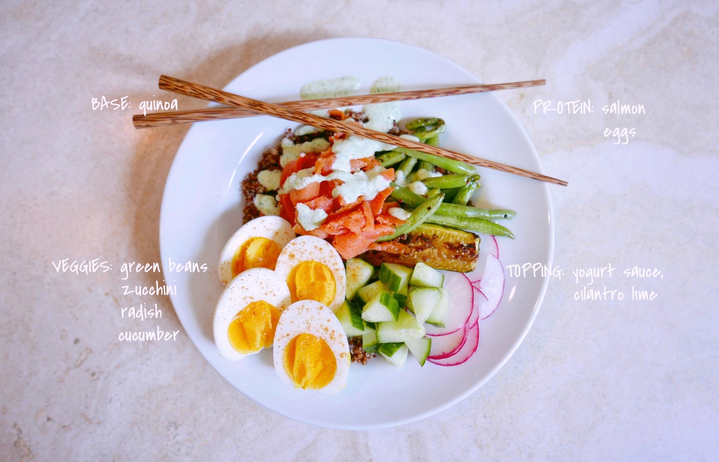 Salmon Breakfast Plate