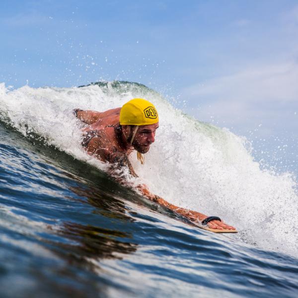 Bodysurfing Athlete