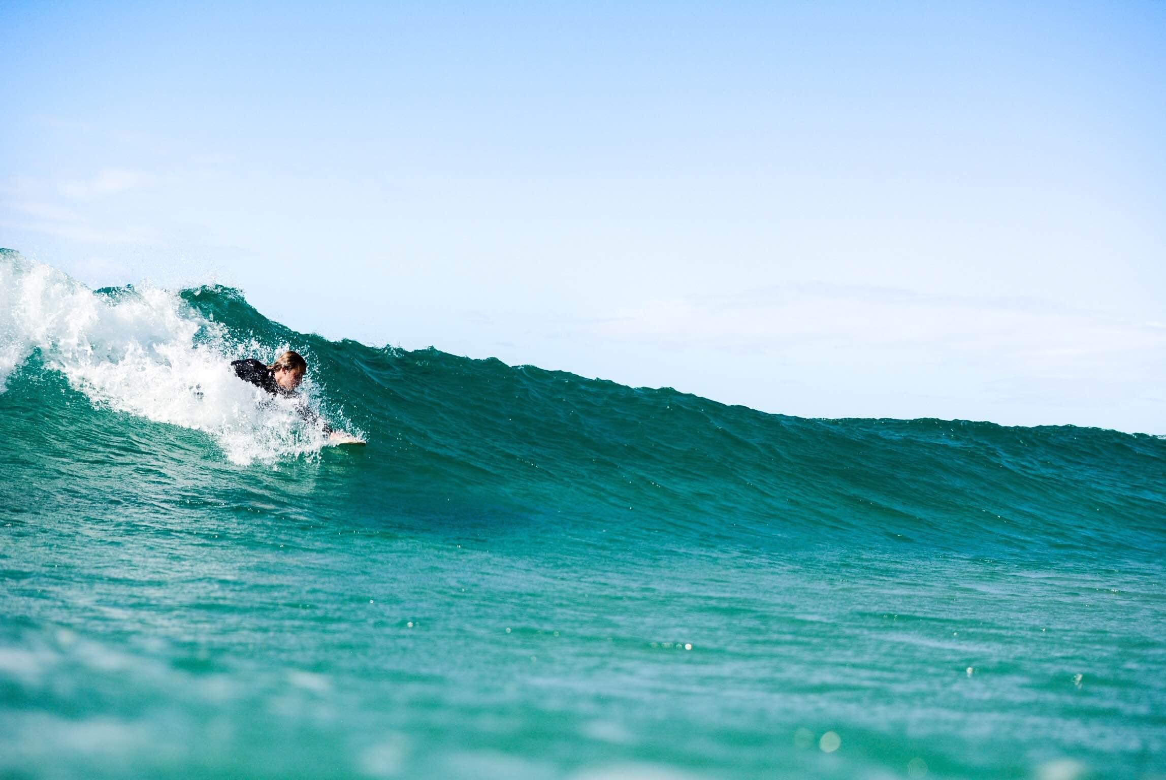 body surfing handplane