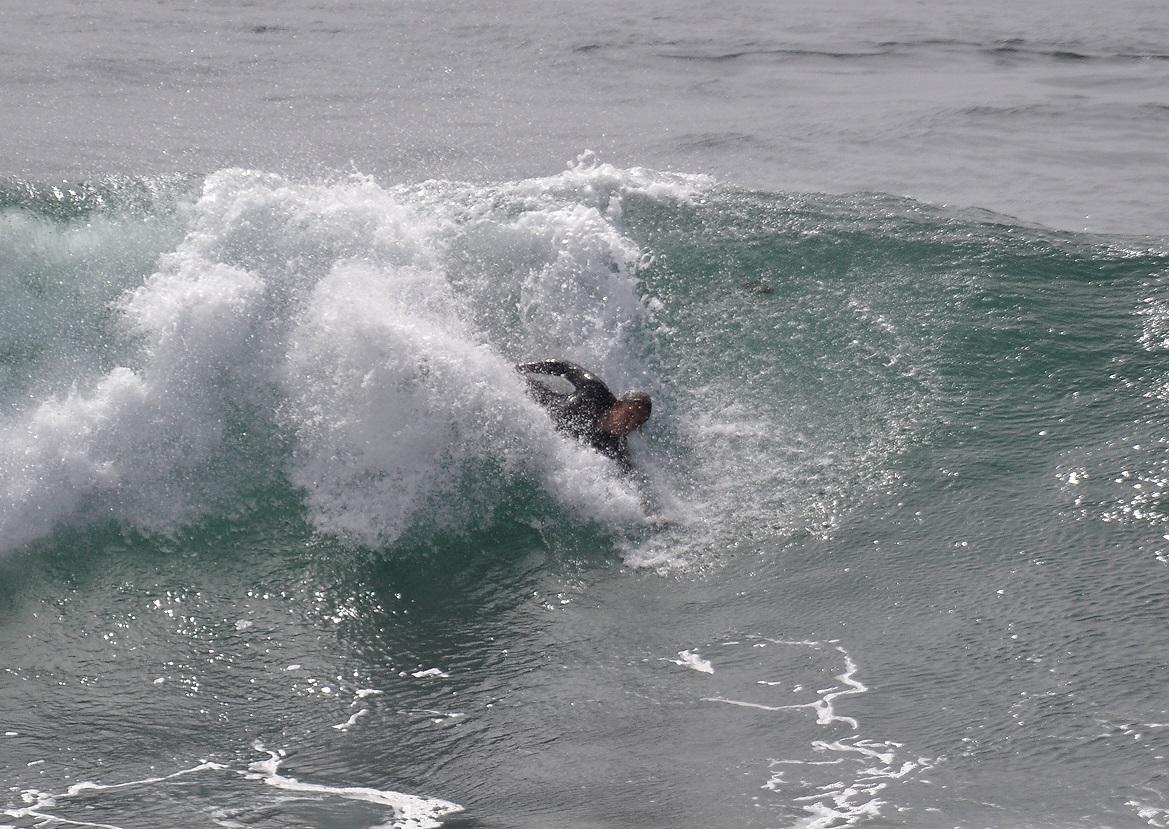 Hand plane body surfing