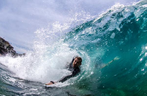 Body surfing australia