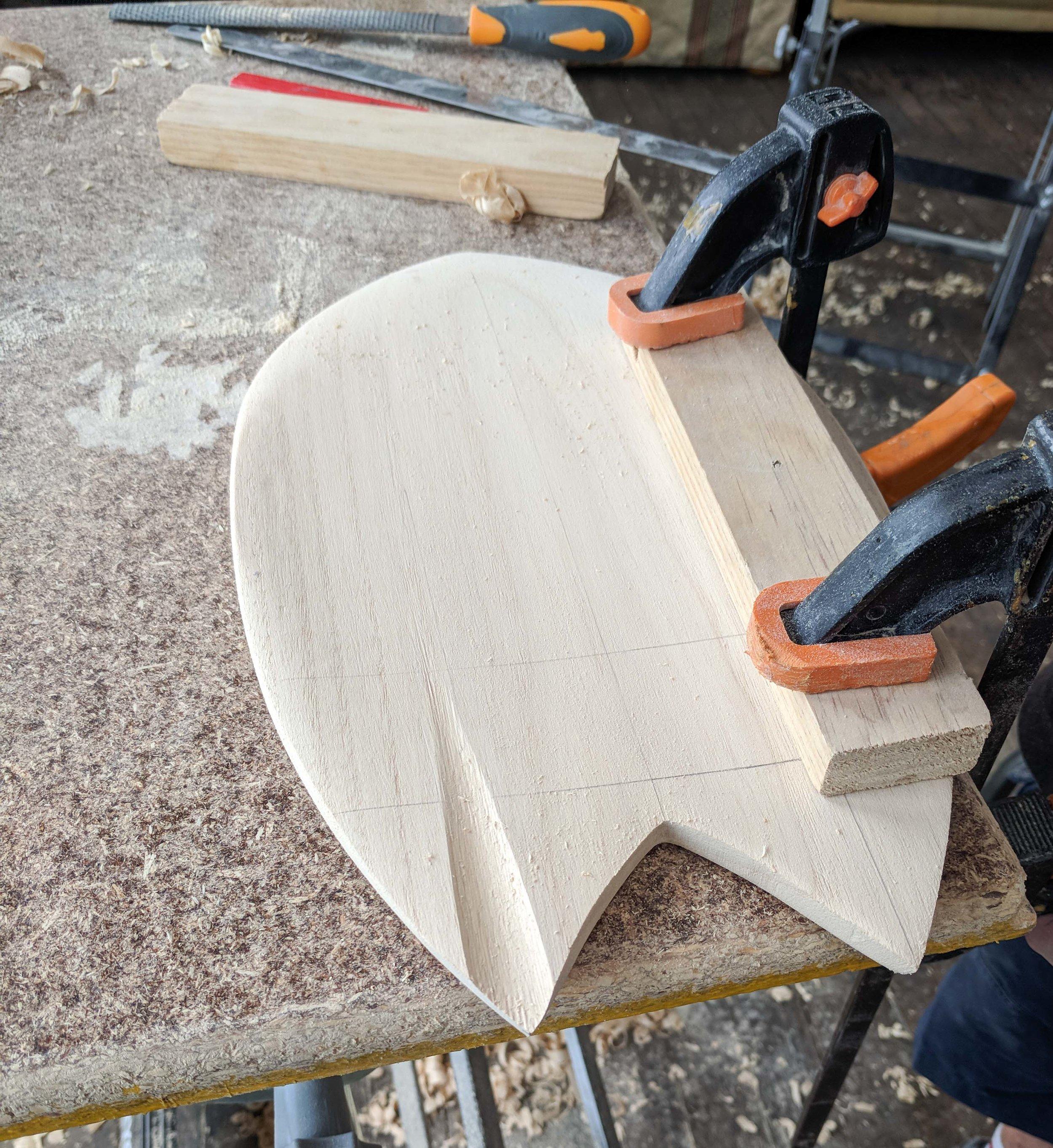 how to make a bodysurfing handplane