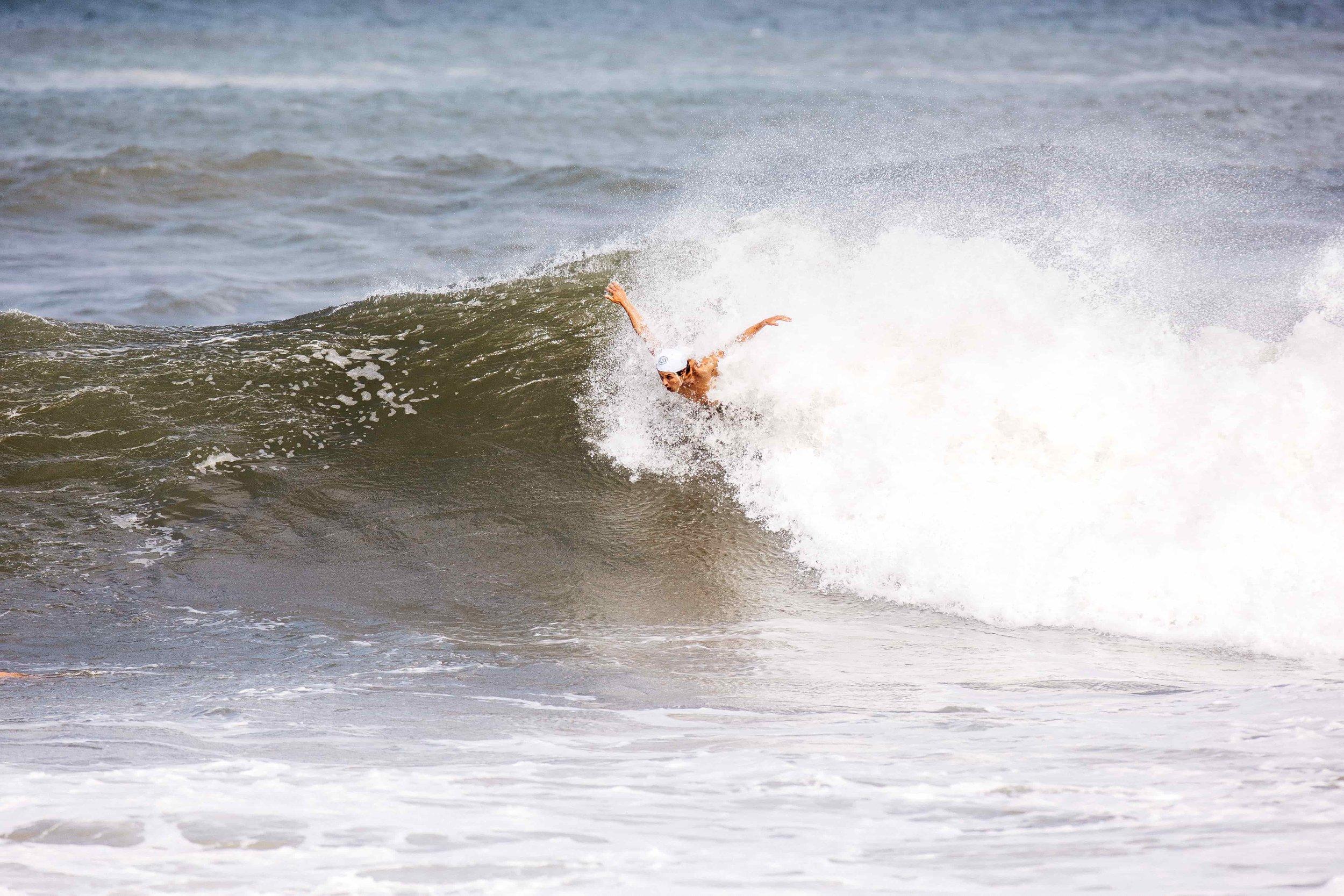 Jack Macrae body surfer