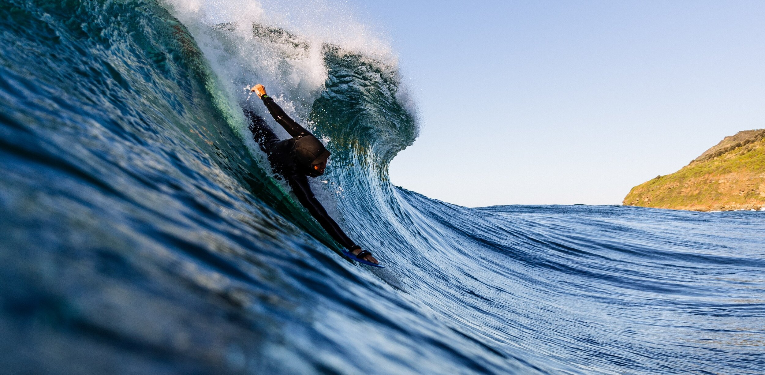 More Waves, Less Plastic -