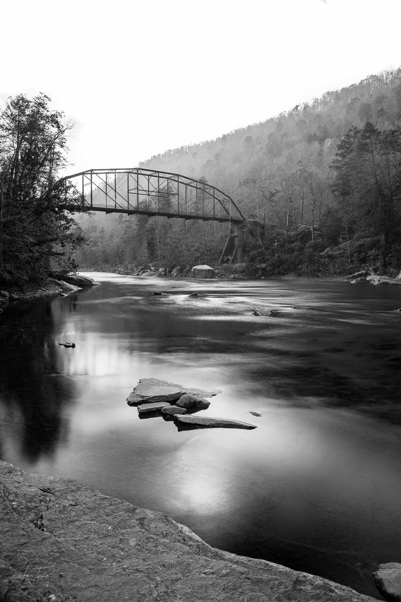 High Bridge On Cheat River - West Virginia