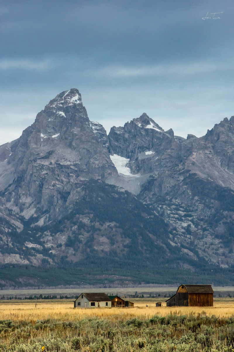 Homestead on Antelope Flats - Wyoming
