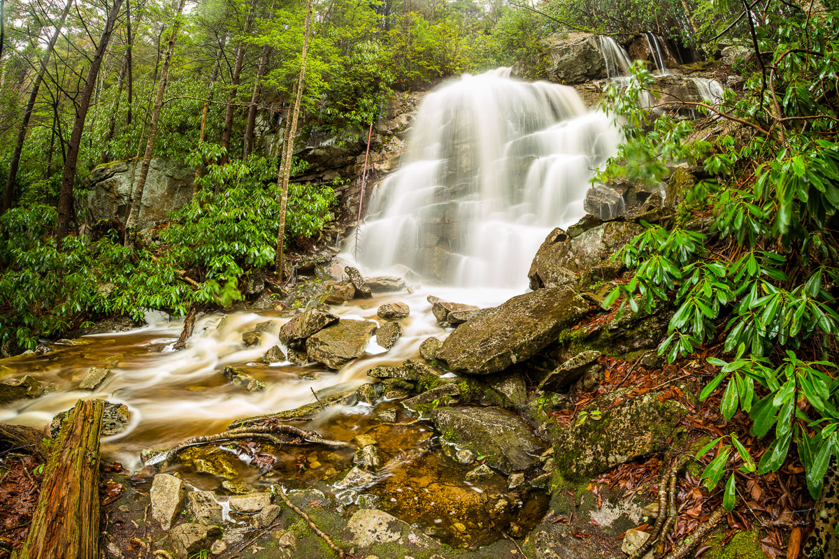 Falls Run Falls - West Virginia