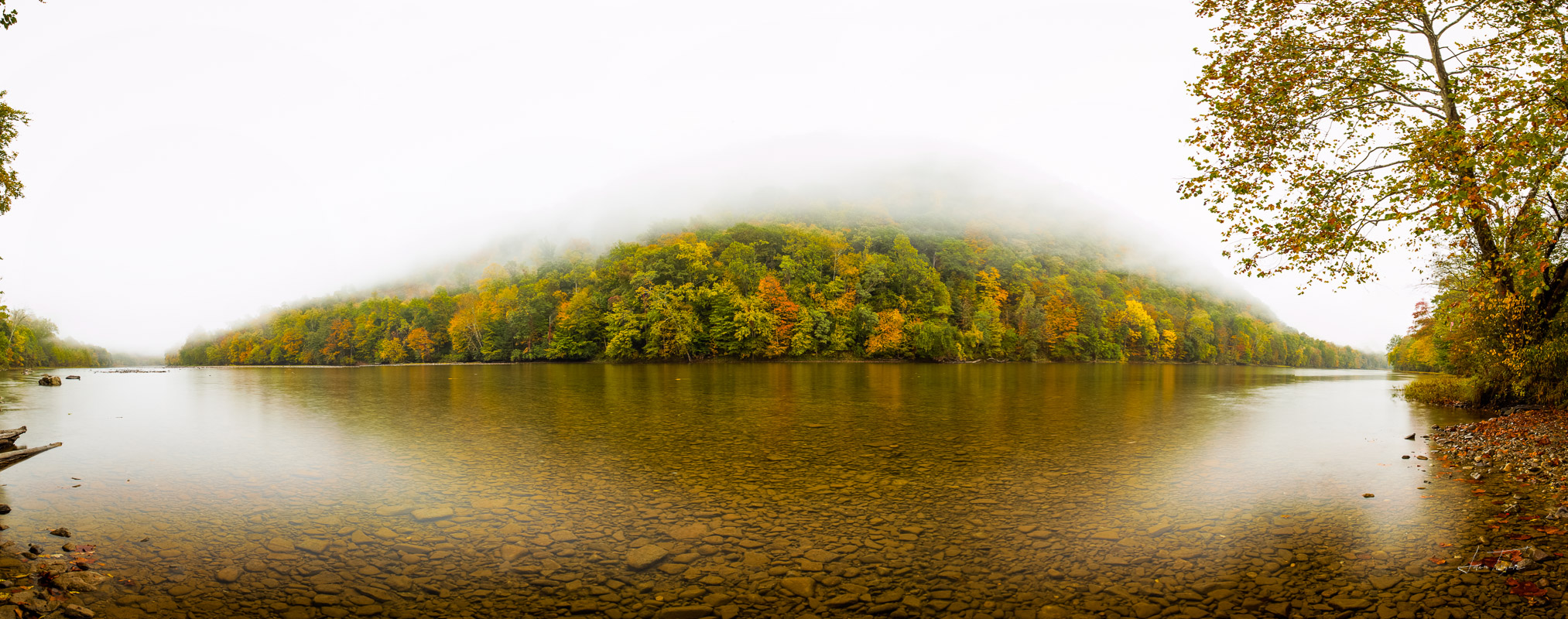 Mists at Hannahsville Ford