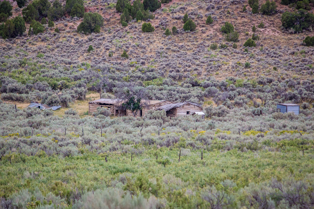 Abandoned Ranch. Flaming Gorge NRA