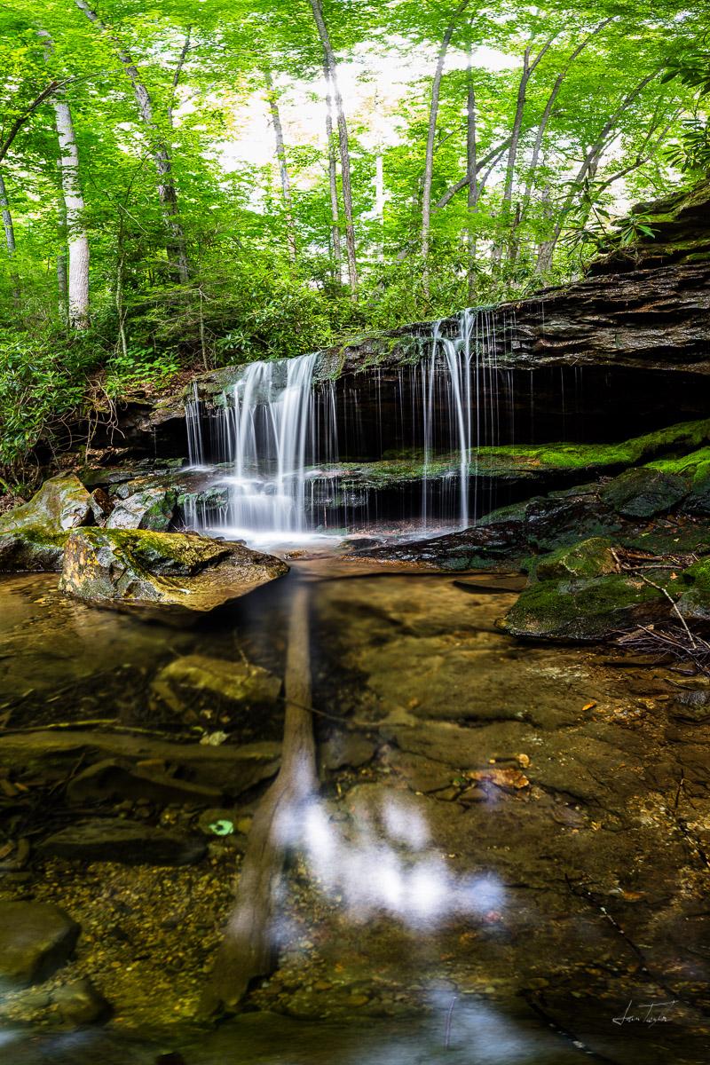 Cold Run Falls - West Virginia