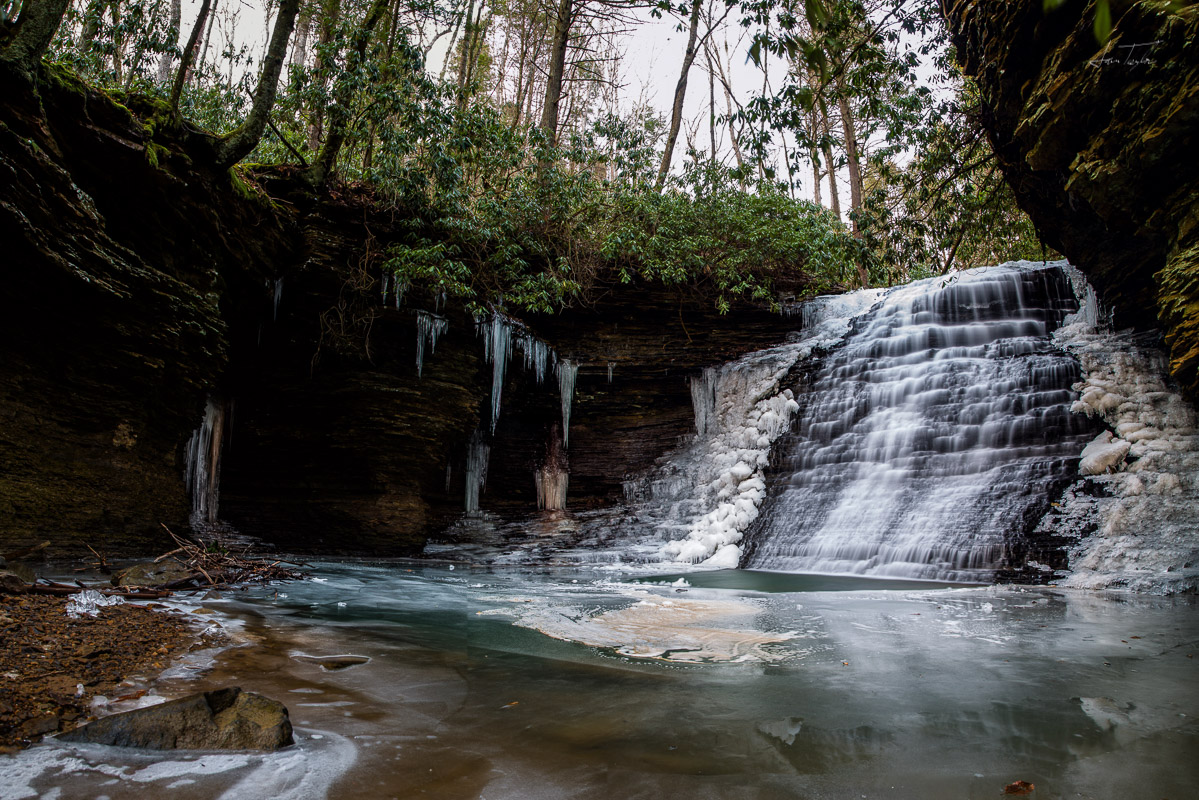 Grotto On The Gauley - West Virginia