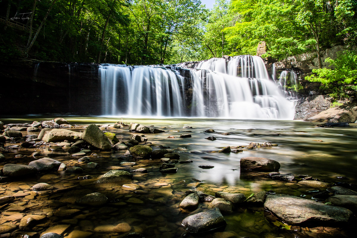 Brush Creek Falls - West Virginia