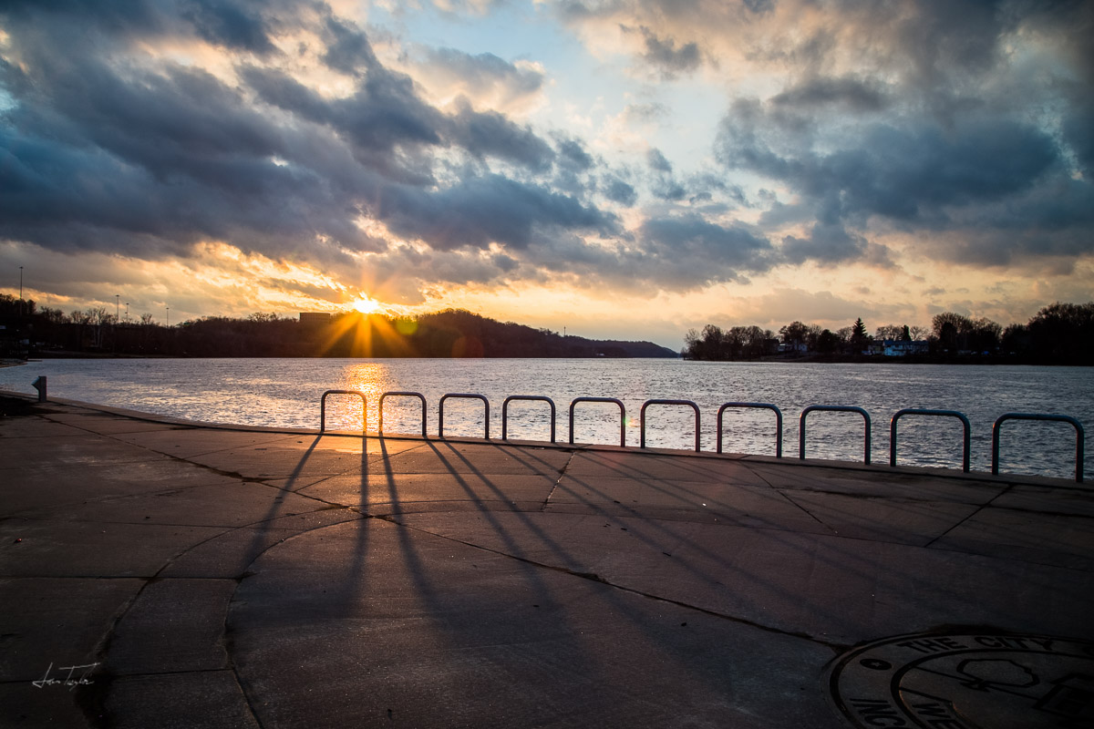 Sunset at Point Park - West Virginia