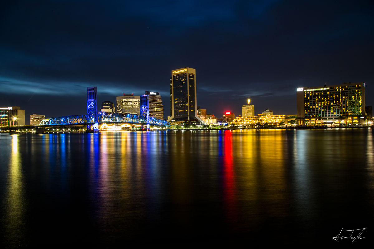 Downtown Jacksonville Skyline - Florida