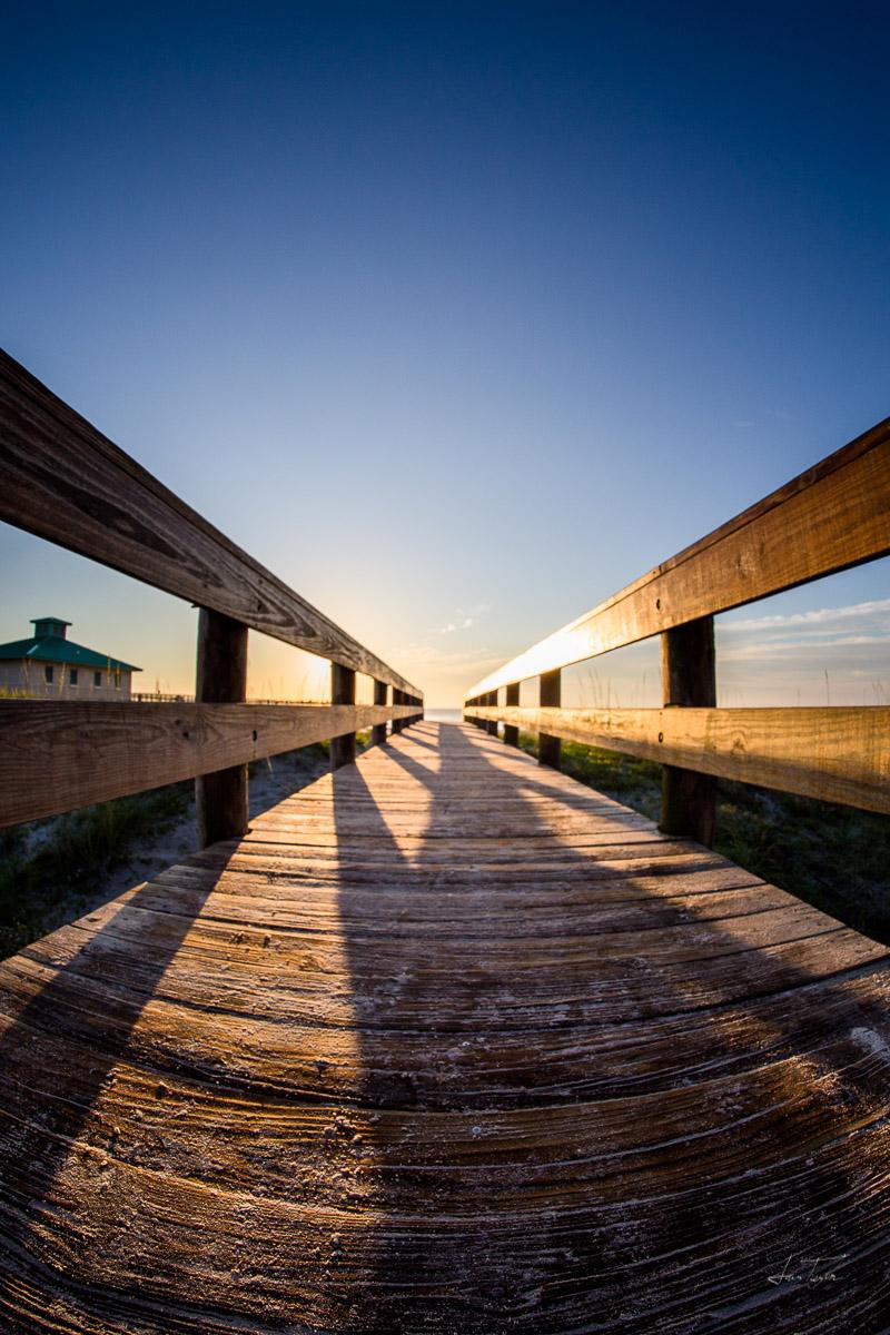 Daybreak on the Boardwalk - Florida